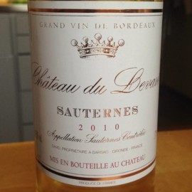 Rượu vang SAUTERNES