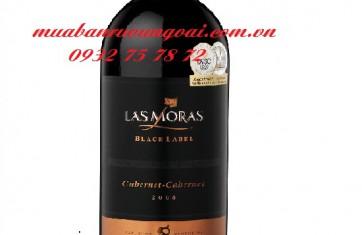 Rượu vang Las Moras Black Lable