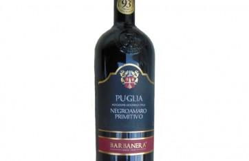 Rượu Vang Barbanera Negroamaro - Primitivo