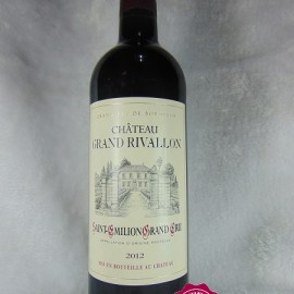 Saint Emilion Grand Cru Château Grand Rivallon 2012