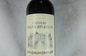 Saint Emilion Grand Cru Château Grand Rivallon 2012