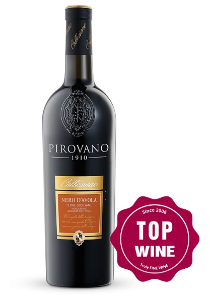 Rượu Vang Pirovano Nero D'avola