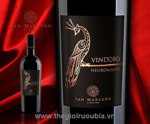 Rượu Vang Vindoro  (Con công)