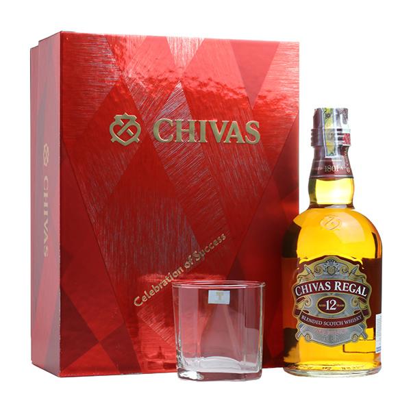 RƯỢU CHIVAS REGAL 12 YEARS OLD GIFT BOX 2018