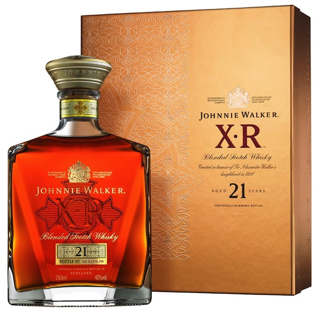JOHNNIE WALKER & SONS XR21 Y.O 750ML