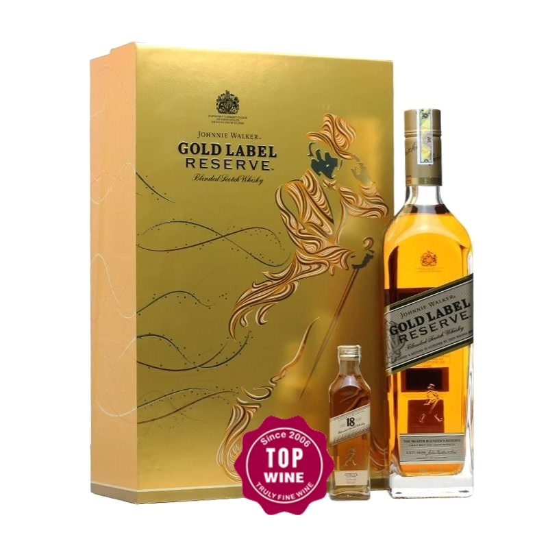 JOHNNIE WALKER GOLD LABEL 750ML HỘP QUÀ